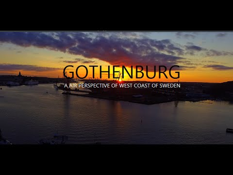 Sweden - Gothenburg - A Bird's–Eye View  | dji Phantom  | 4K