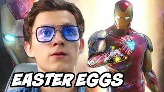 Avengers Endgame Ending Scene - Spider-Man Spider Gwen Easter Eggs Breakdown
