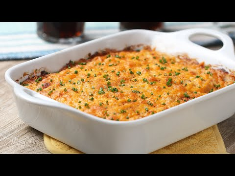 Classic Hot Crab Dip For A Crowd • Tasty