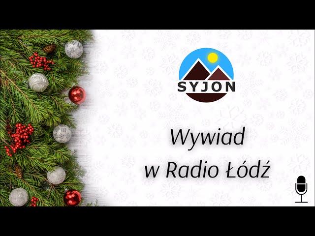 Wywiad w Radio Łódź
