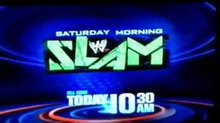 vortexx on the cw wwe saturday morning slam promos