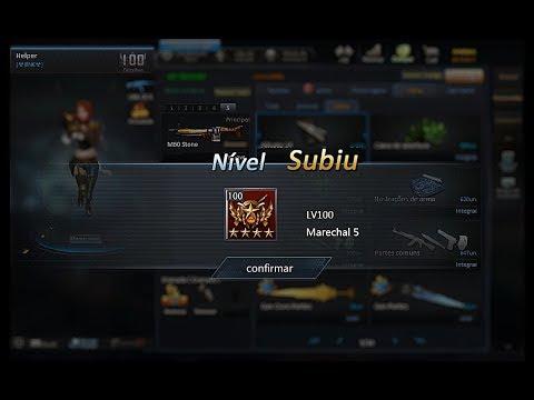 Blood Strike: Upando Lv100 Pela 2° vez + Armas Novas