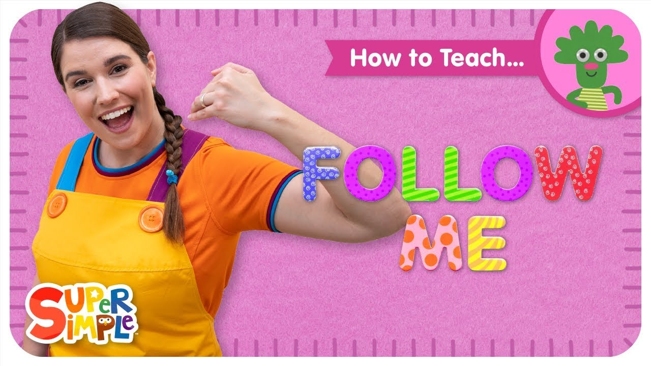 Learn How To Teach Follow Me Music Movement Song For Kids Youtube