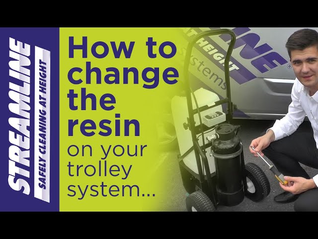 How to change the resin on your 25ltr or 50ltr trolley system