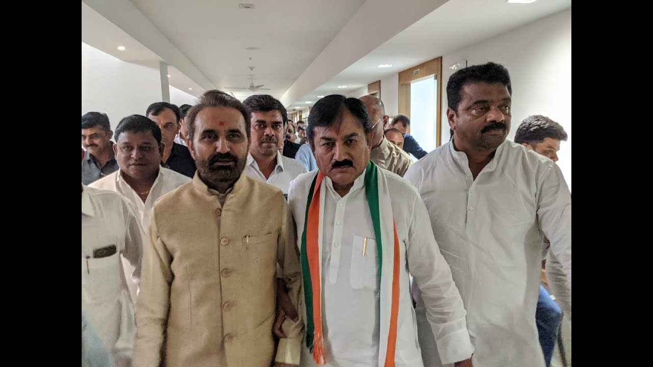 Congress Candidate File Nomination For Rajya Sabha Poll 2