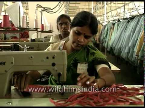 Garment factory and fashion textile manufacturing - Make in