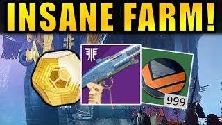 Destiny 2: INSANE NIGHTFALL FARM! - Amazing Loot! | Forsaken
