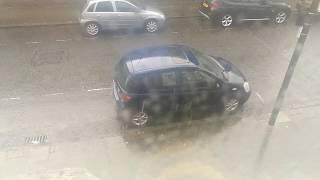 Cellphone vid of rain for endo