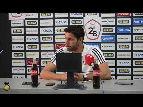 Jornada 8: Rueda de prensa de Javier Baraja, entrenador del Real Valladolid Promesas