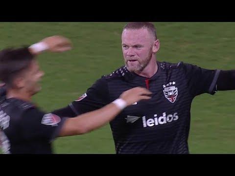 Wayne Rooney scores FIRST goal in MLS!!!