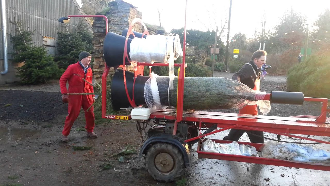 Xmas Tree Netting Youtube