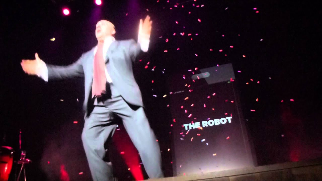 Omid Djalili Dancing Encore  Destiny's Child Independant Women Glive Guildford 19 Febuary 2012