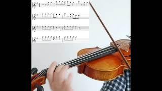 원더걸스 노바디 악보 바이올린 연주