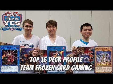 Yugioh Team YCS Atlanta Top 16 Deck Profile - Team Frozen Card Gaming