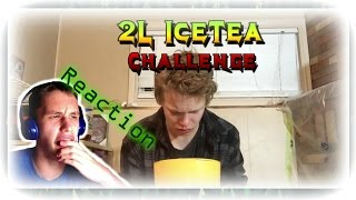 Cloudy Bogdan reacts-2L OF ICED TEA CHALLENGE!!!
