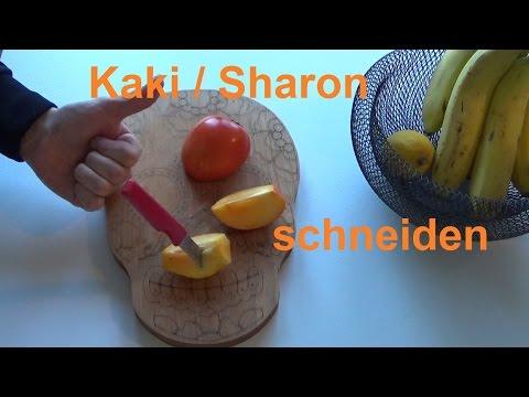 anleitung zubereitung kaki frucht kaki essen wie isst man eine kaki. Black Bedroom Furniture Sets. Home Design Ideas