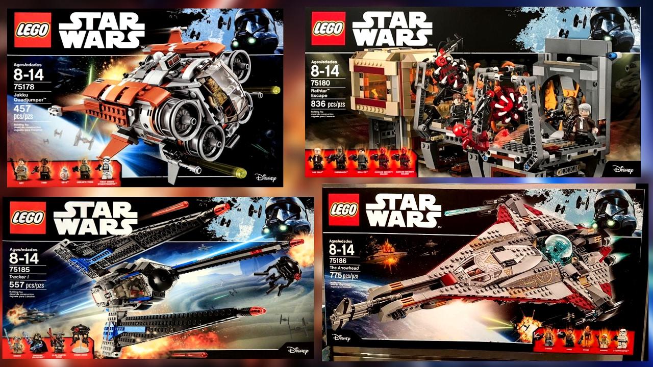 Lego Star Wars The Arrowhead 75186 Review Summer 2017 Set Starwars