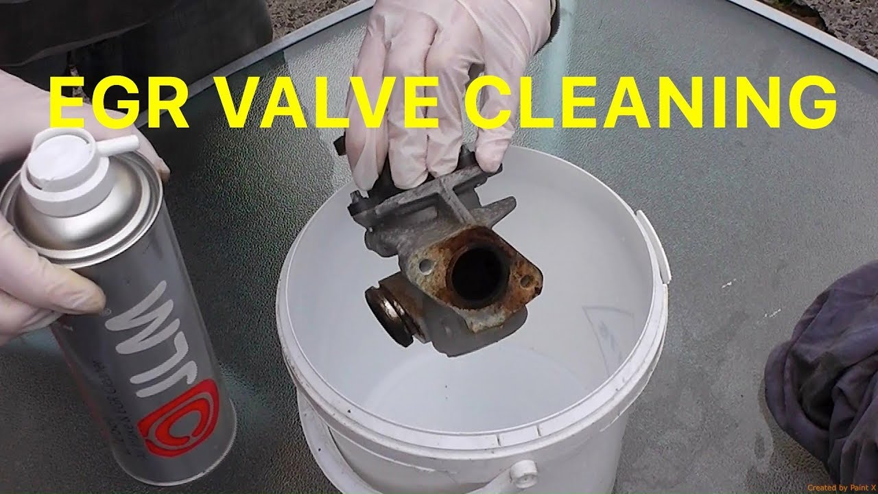 How To Clean An Egr Valve After Removing It Youtube