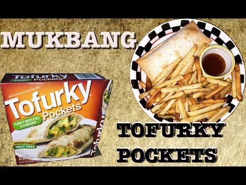 MUKBANG | Taste Test | Tofurky Broccoli And Cheddar Pockets | Ep:806