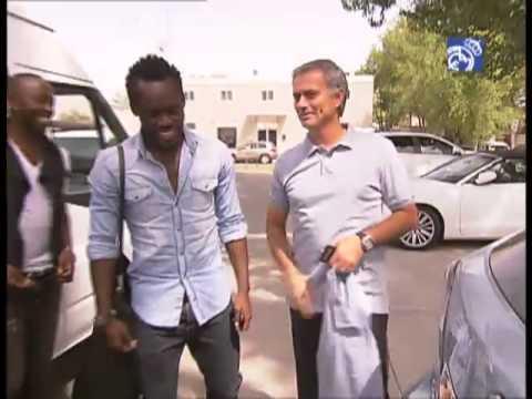 Michael Essien ya está en Madrid