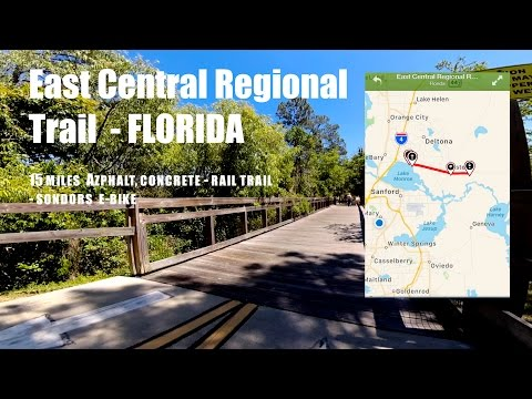 Bike Trails -East Central Regional Rail Florida