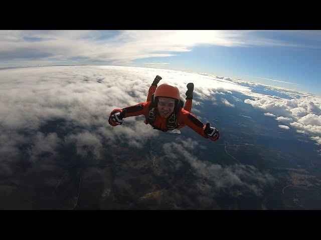Week 35 -  ABC student weekend at Skydive Oslo!