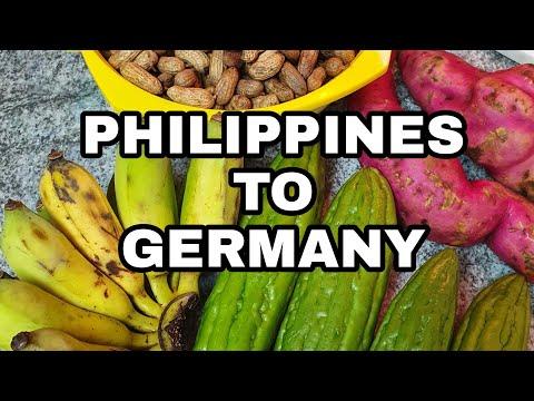 Philippines to Germany | Camote | Mani | Banana | Ampalaya | Armida Krauss