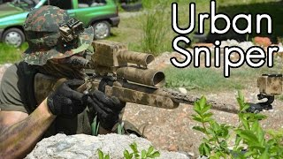 Airsoft Sniper Gameplay - Scope Cam - Urban Sniper 3