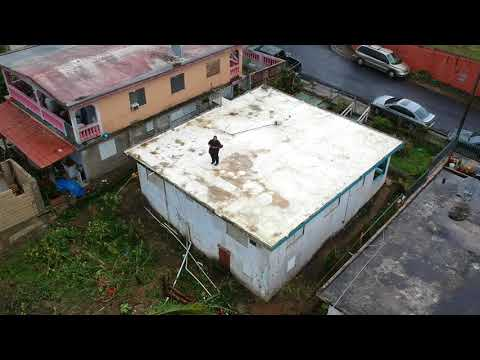 My area after Hurricane Maria (San Lorenzo, Puerto Rico)