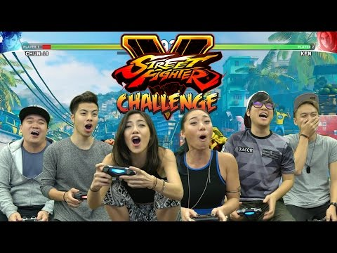 Street Fighter Challenge - (Featuring The Sam Willows)