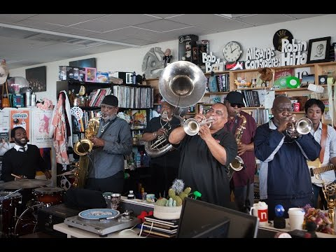 Dirty Dozen Brass Band: NPR Music Tiny Desk Concert
