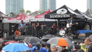 Silverstein - Milestone - 07/17/15 - Toronto Warped Tour (LIVE)