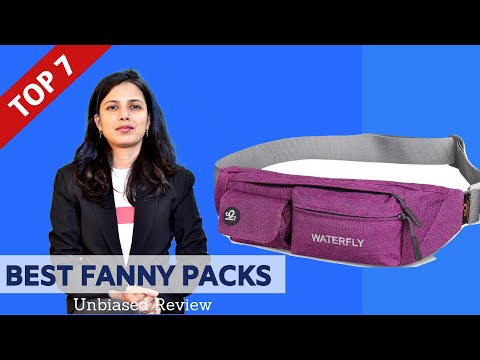 ✅ Top 7: Best Fanny Packs 2020 | Fanny Pack Review & Comparison