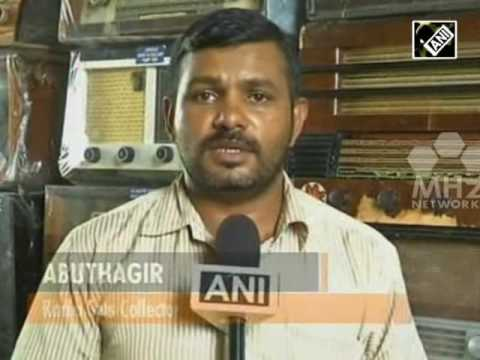 Man in southern India's obsessed with antique radio sets (30 May,2016)