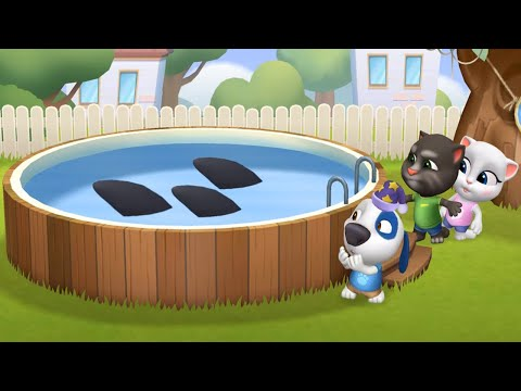 MY TALKING TOM FRIENDS 🐱 ANDROID GAMEPLAY #13 - TAKING TOM AND FRIENDS BY OUTFIT
