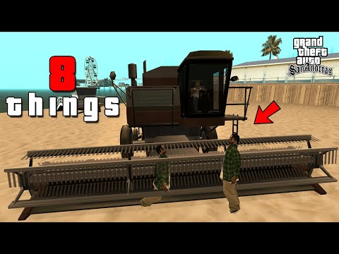 8 HORRIBLE Things You Can Do In GTA San Andreas