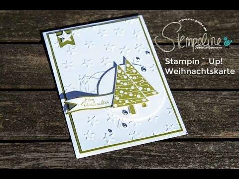 stampin up weihnachtskarte christbaumfestival youtube. Black Bedroom Furniture Sets. Home Design Ideas