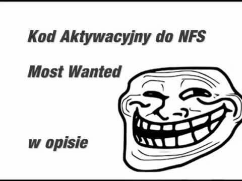 Kod Aktywacyjny Need For Speed ( NFS ) Most Wanted