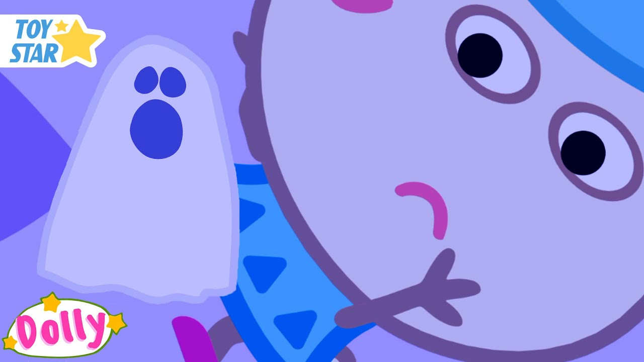Dolly & Friends 👻 Ghosts Best Episodes 👻 Funny Cartoon Animaion for kids #265
