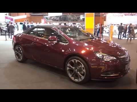 2014 Opel Cabrio Excellence at Madrid Motor Show 2014 | AutoMotoTV
