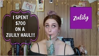I Spent $700 On A ZULILY HAUL!! PART 1!!