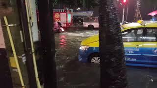 Паттайю затопило в праздник 22 ноября 2018.