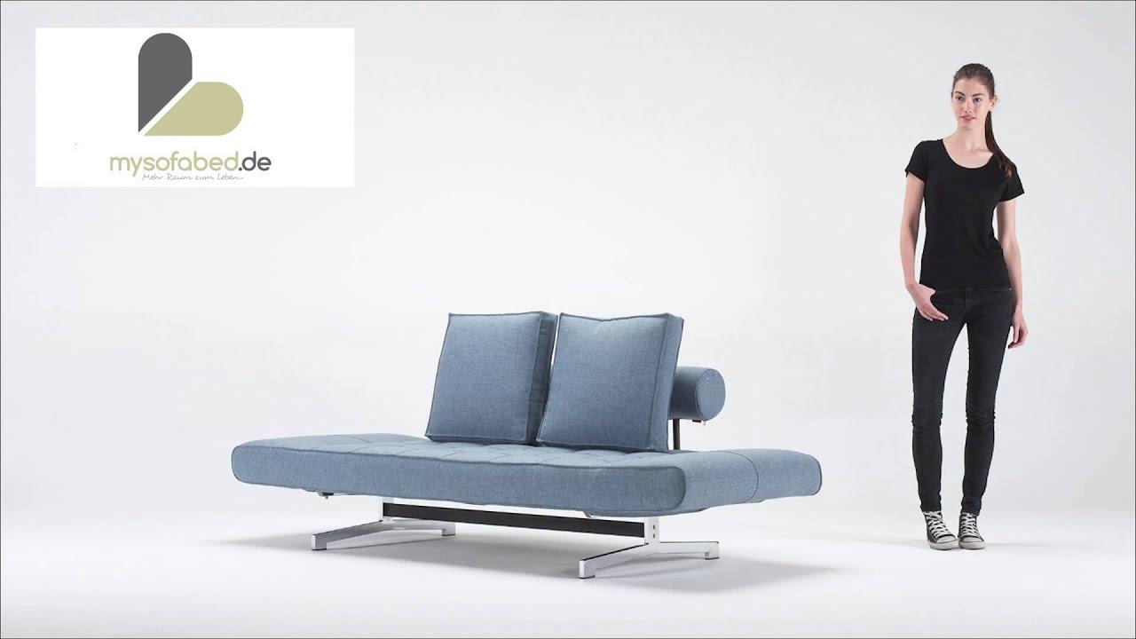 Schlafsofa Liege Ghia Von Innovation Mysofabedde