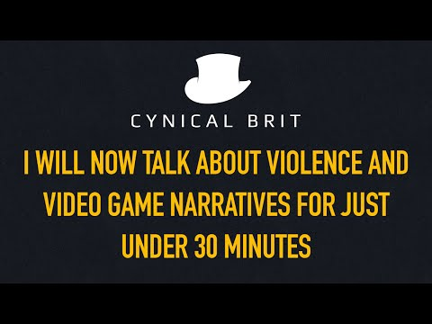 I will now talk about violence and video game narratives for just under 30 mins.