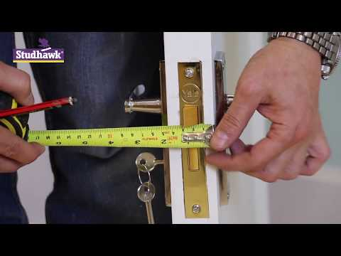 How To Install A Mortise Mortice Lock And Handles