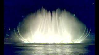 Tańczące fontanny w Dubaju