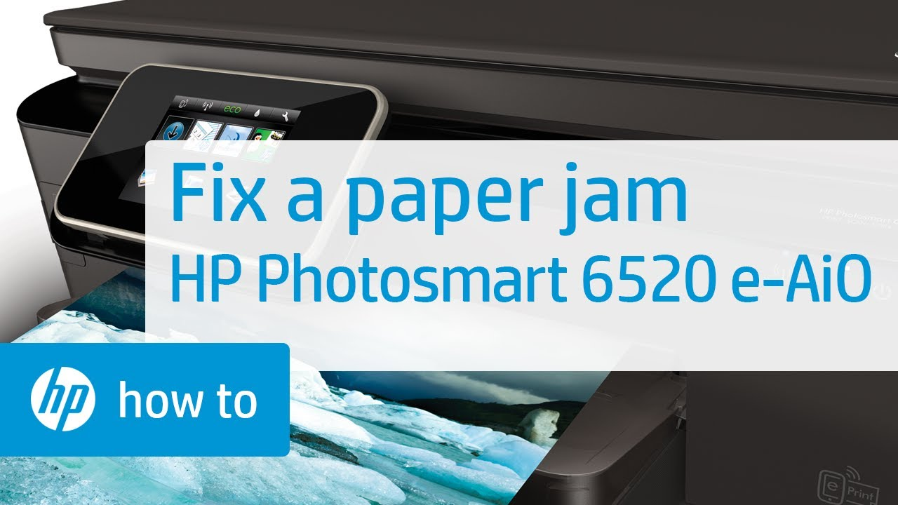 paper jam how to fix