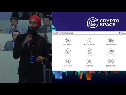 Hartej Sawhney @CryptoSpace Keynote (Smart Contracts)