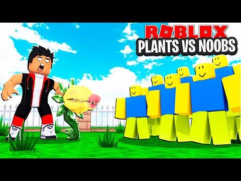 JE DÉTRUIS 9999+ NOOBS AVEC MES PLANTES ! (Plants vs Noobs)