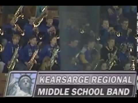 Kearsarge Regional Middle School Band - God Bless America - March 6, 2015